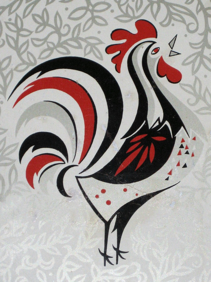Петух декоративный картинка