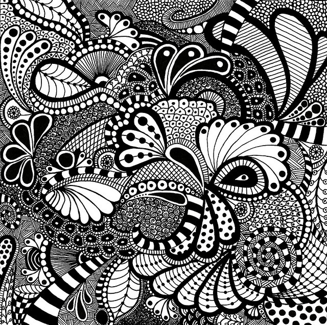 95 Best Images About Zentangle Designs And Patterns On