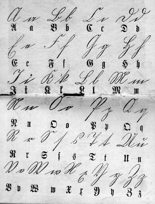 Suetterlin german writing 1000 ideen zu stterlin alphabet auf pinterest kurrent altavistaventures Image collections