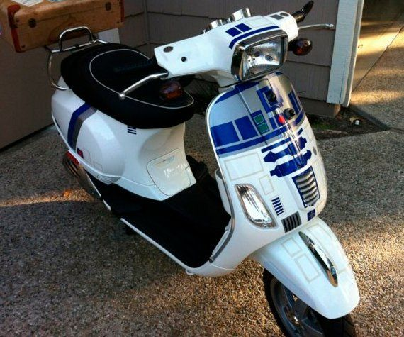 This IS The Vespa You're Looking For | Incredible Things