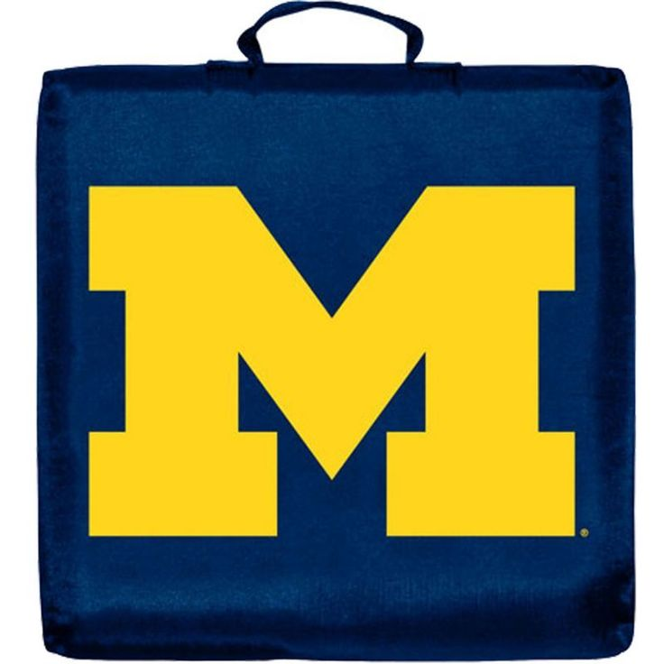 Michigan Wolverines Stadium Seat Cushion, Blue