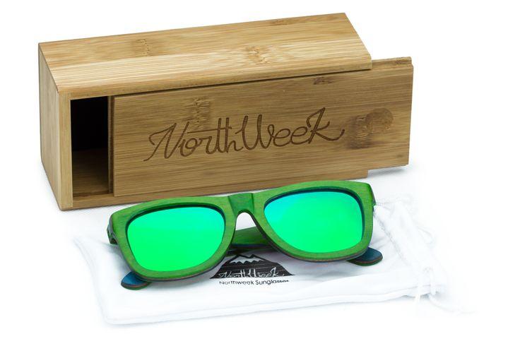 Funda Northwood Colorful Green&Green Polarized #Northweek #Sunglasses #Barcelona http://www.northweek.com/northwood