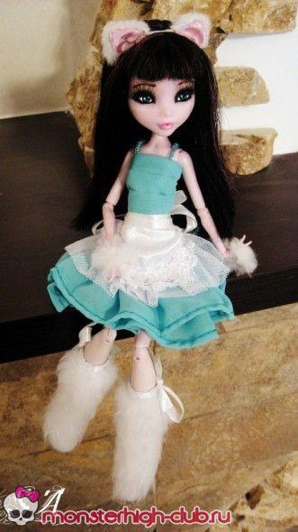 Monster High Dress Tutorial