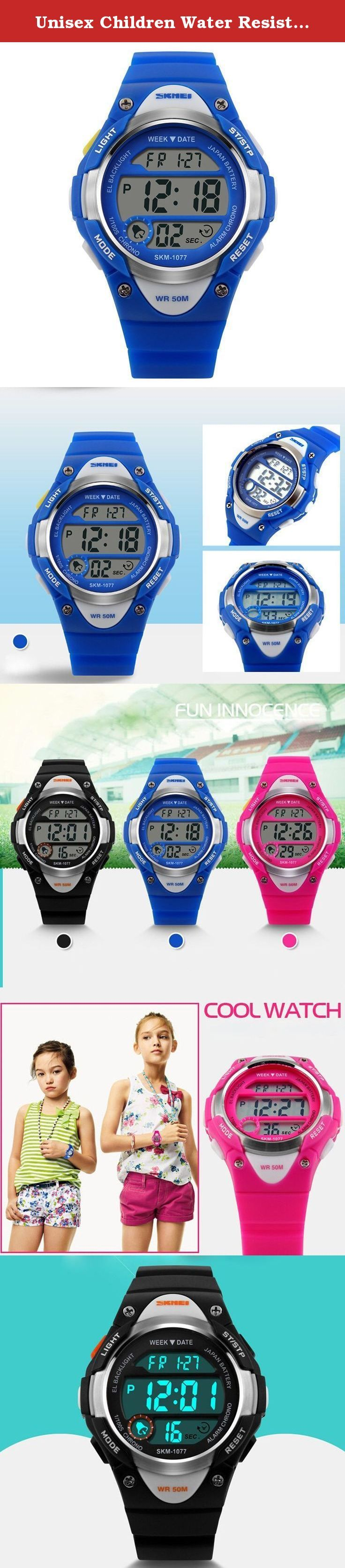 Unisex Children Water Resistant Watch Multifunction LED Watch Student Boy Girl Sports Wristwatch- Blue. A variety of styles you can choose in our store ! Package Included: 1 x Watch Please Note: 1. Actual color may vary from picture due to computer settings. 2. Find store front of Sunny world, more surprises are waiting for you! Dear Buyer, Thanks for your continuous support to our store, and we are always striving to improve ourselves in terms of service, quality, sourcing, etc. It would…