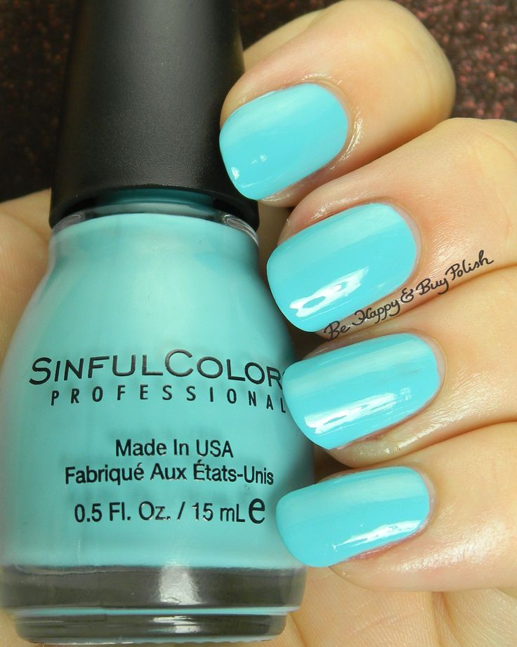 Sinful Colors Summer S-Cool | Be Happy And Buy Polish http://behappyandbuypolish.com/2015/08/06/sinful-colors-a-class-act-nail-polishes-partial-collection/