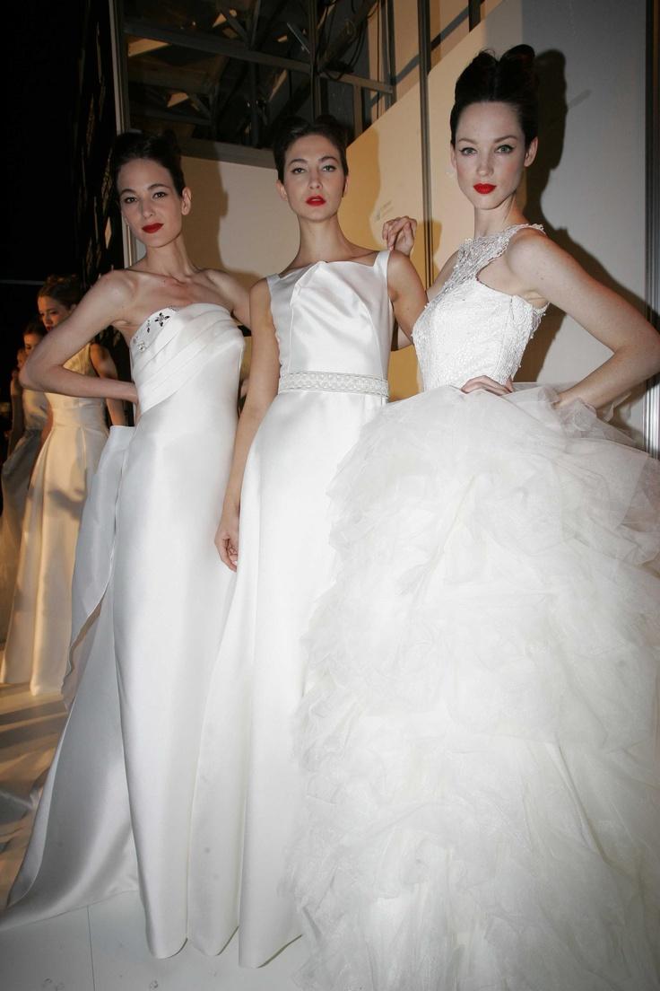 Propuestas de Miquel Suay en la Pasarela Barcelona Bridal Week 2013. Imagen cedida por la BBW.