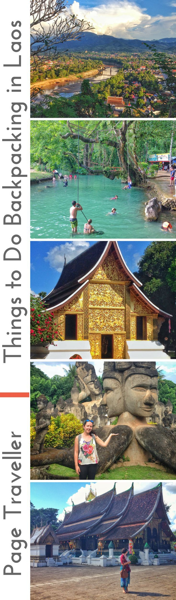Backpacking Laos was easily one of the highlights of my whole Southeast Asia trip. I had a one week itinerary for Laos, which traversed from Luang Prabang to Vang Vieng, then Van Vieng to Vientiane. There are loads of things to do in Laos, so I've put together a budget travel guide for a backpacking route that showcases the best places to visit in Laos. #Laos #LuangPrabang #VangVieng #Vientiane #HuayXi #SoutheastAsia #Asia #backpacking #backpacker #travel #travelblogger #travelblog…