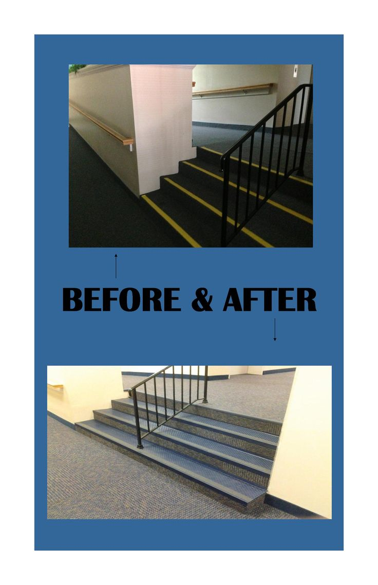 Check Out Our Before U0026 After  New Carpet Tile U0026 Stair Tread Installation At  A