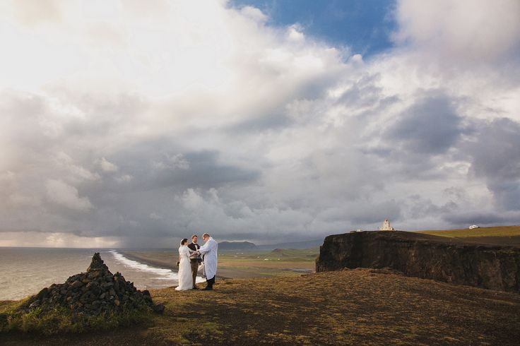 The ceremony at the Cape in Iceland. Unrealistically beautiful nature, fabulous location, I advise everyone to take a trip to this wonderful country!