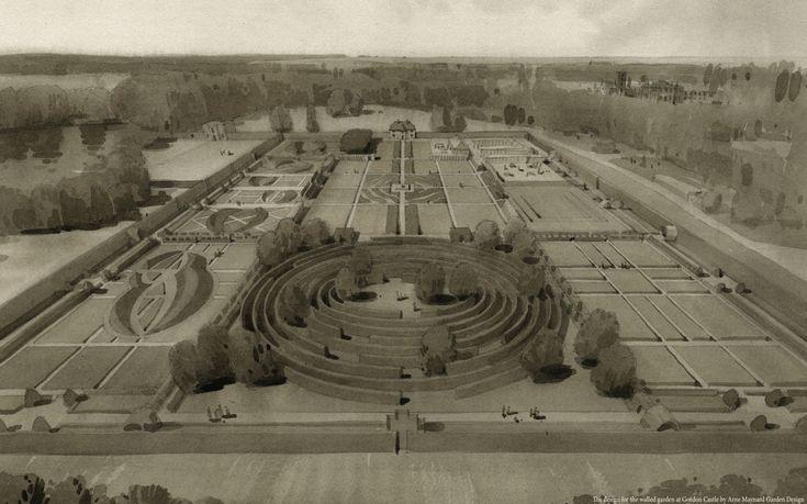 Gordon Castle - Arne Maynard Garden Design