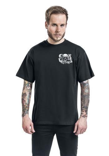 """Classica T-Shirt uomo """"Reaper Cre"""" della serie televisiva #SonsOfAnarchy."""