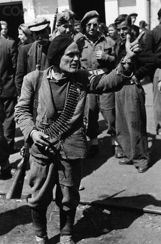 Greek Civil War of 1945-1947.