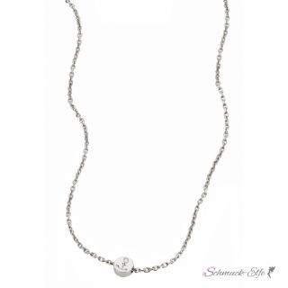 """Collier  Anker  cai love """"Sign in!""""  aus 925..."""