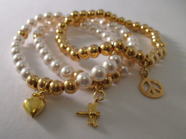 Swarovski & Vermeil Gold Stacker Bracelets now live on my website. Handmade by Hannah www.blueapplejewellery.com
