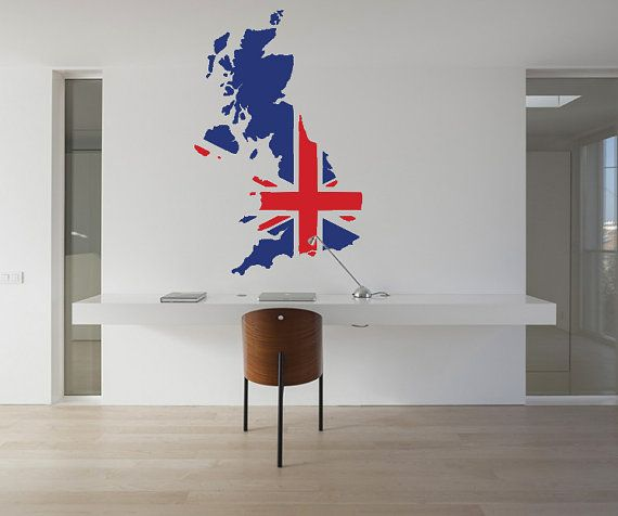 Interior decor ideas uk map