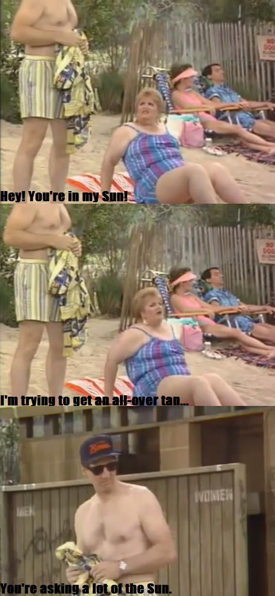 Al Bundy's fat insults made 'Married...With Children' a great show  // funny pictures - funny photos - funny images - funny pics - funny quotes - #lol #humor #funnypictures