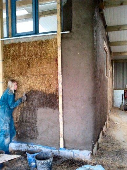 Step by step guide to clay and earthen plastering