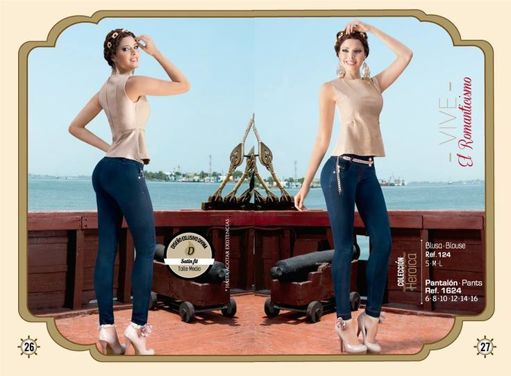 Para las más románticas este look es perfecto   ¡Haz tu pedido ya!  Pantalón tallas: 6, 8, 10, 12, 14 y 16. Ref: 1624 Blusa tallas: S-M-L Ref: 124  Divina Mujer, tú nos inspiras...