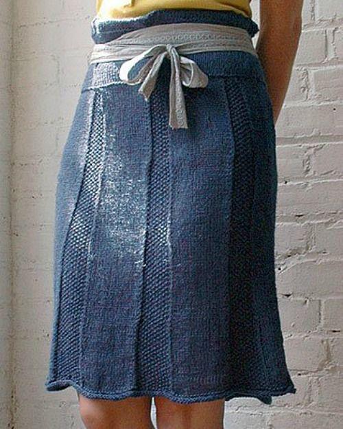 knitted skirt vía berrocodesign