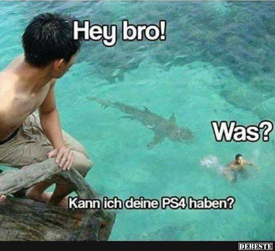 Kann ich deine PS4 haben?