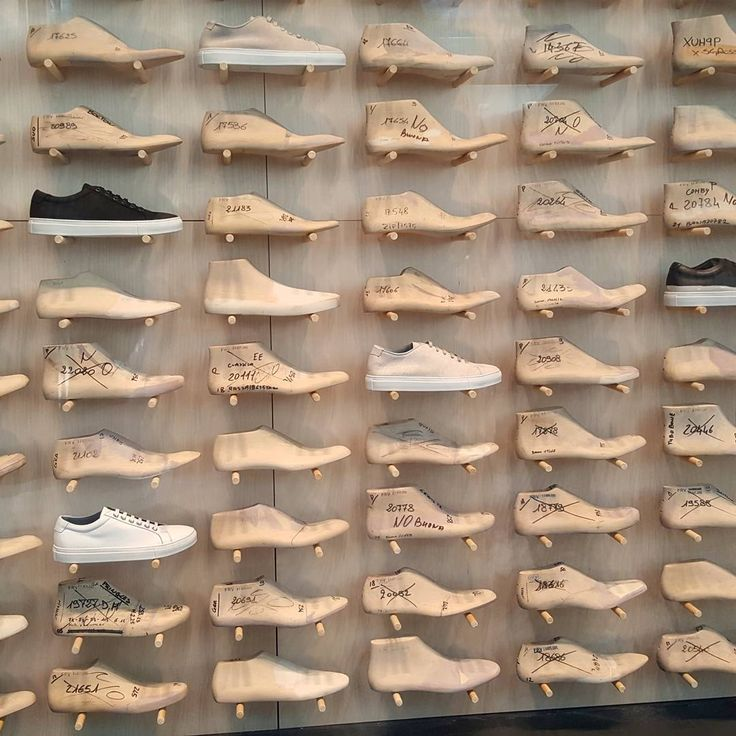 "LA RINASCENTE, Milan, Italy, ""Le Sneakers Volanti"", for Diadora, pinned by Ton van der Veer"