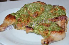 Приготовить курицу по грузински в соусе из чеснока и пряных трав. Как приготовить курицу по-аджарски. Курица в соусе по-грузински рецепт приготовления фото