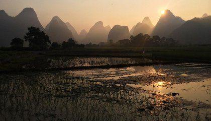 Yulong River, Yangshou, Guilin, China