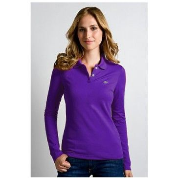Classic Women Long Sleeve, Purple