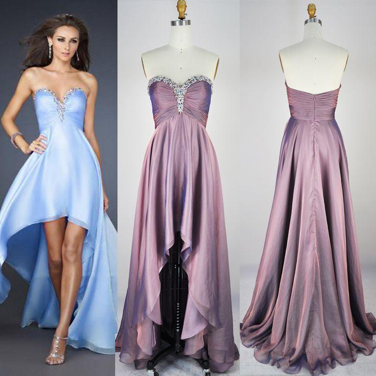 Graduation Dress,Hi-length Prom Dresses,Beaded Evening Dresses,Strapless Graduation Dresses,Sweetheart