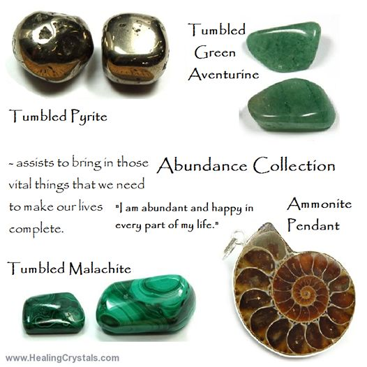 176 crystals for abundance abundance is not just about