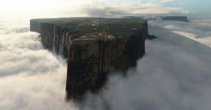Nel profondo delle foreste pluviali del Venezuela misteriosi altopiani si innalzano a più di 2700 metri di altezza, ma visti dall'alto appaiono come isole che galleggiano su un mare di nubi. Sono i te