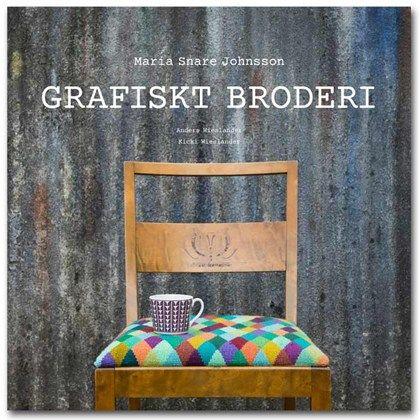 Grafiskt broderi innehåller en massa inspiration och idéer till korsstygnsbroderier