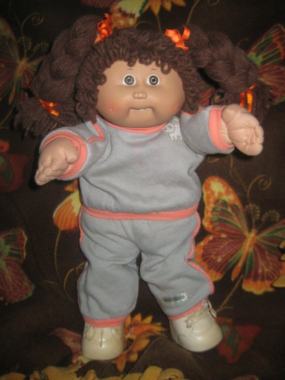 Vintage Cabbage Patch Kid Doll Girl by InwithOldOutwithNew on Etsy
