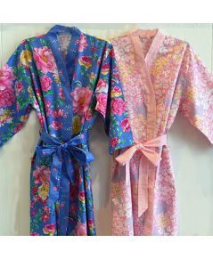 Left to Right: Elsie & Daisy Bathrobe