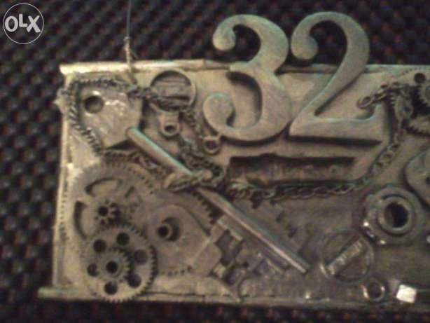 номера на входную дверь в квартиру Днепродзержинск - изображение 4