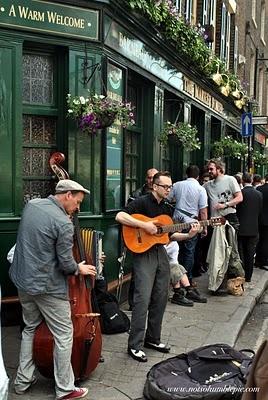 jam session at The Borough Market, London, UK