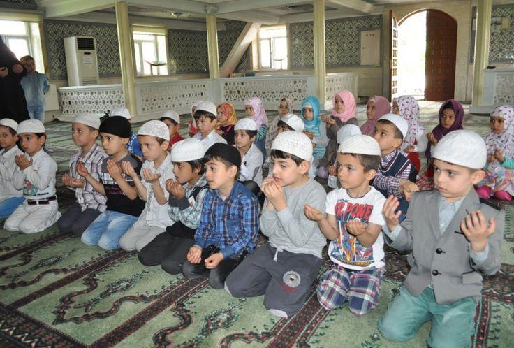 Son sürat gericilik: Anaokulu öğrencileri için Kuran kursu