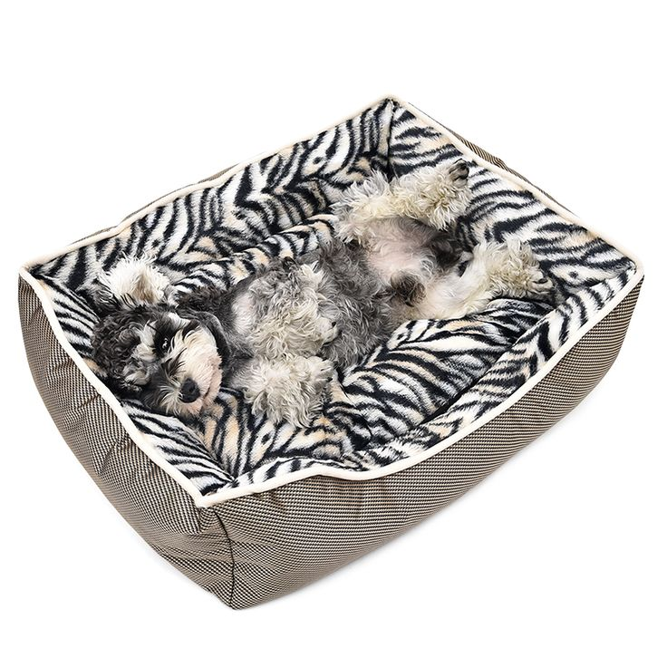 ==> [Free Shipping] Buy Best Soft Dog Bed Zebra Pattern Pet Warm House Puppy Kennel Thick Cat Bed Cushion Products For Animals Pet Supplies 3Sizes Available Online with LOWEST Price | 32707487014