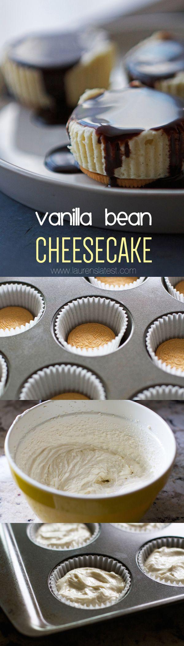 how to make vanilla bean cheesecake