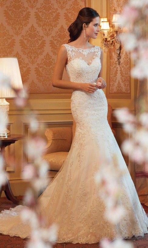 Vestiti da sposa eleganti nuova collezione 2015