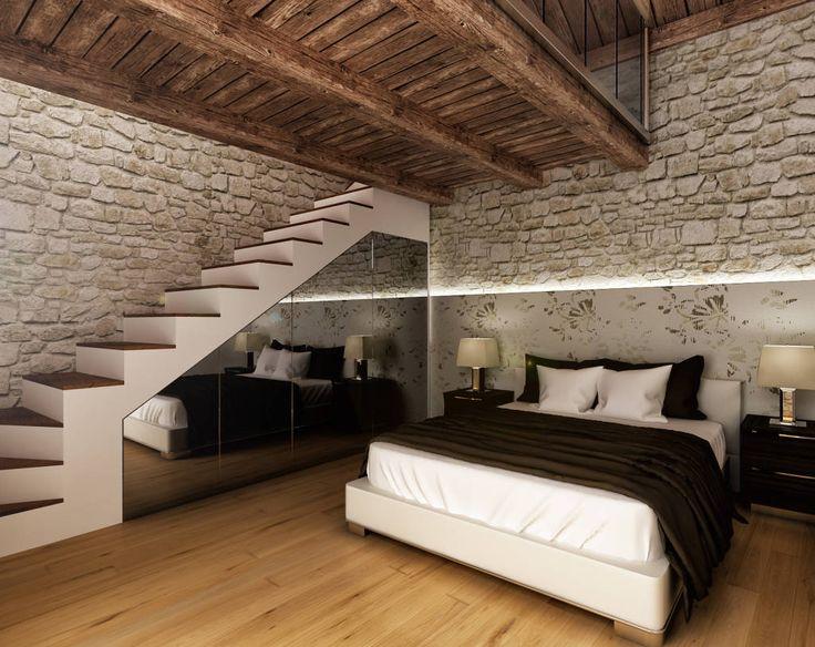 style.camera-da-letto.rustico e di colore % {colour} : Camera da letto ...