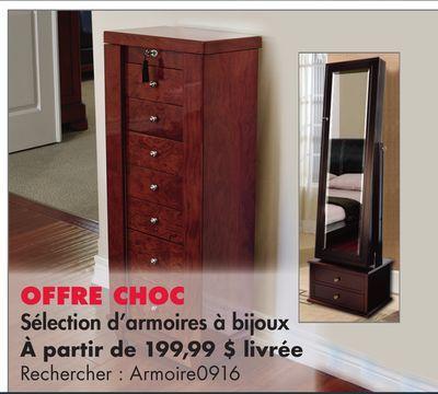 s lection d 39 armoires bijoux meuble pinterest. Black Bedroom Furniture Sets. Home Design Ideas
