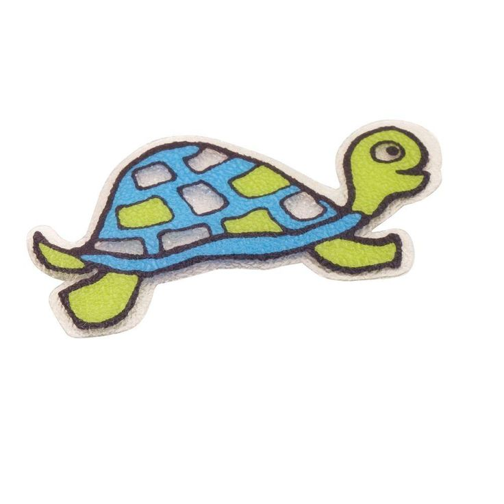 SlipX Solutions Turtle Tub Tattoos (5-Count), Green