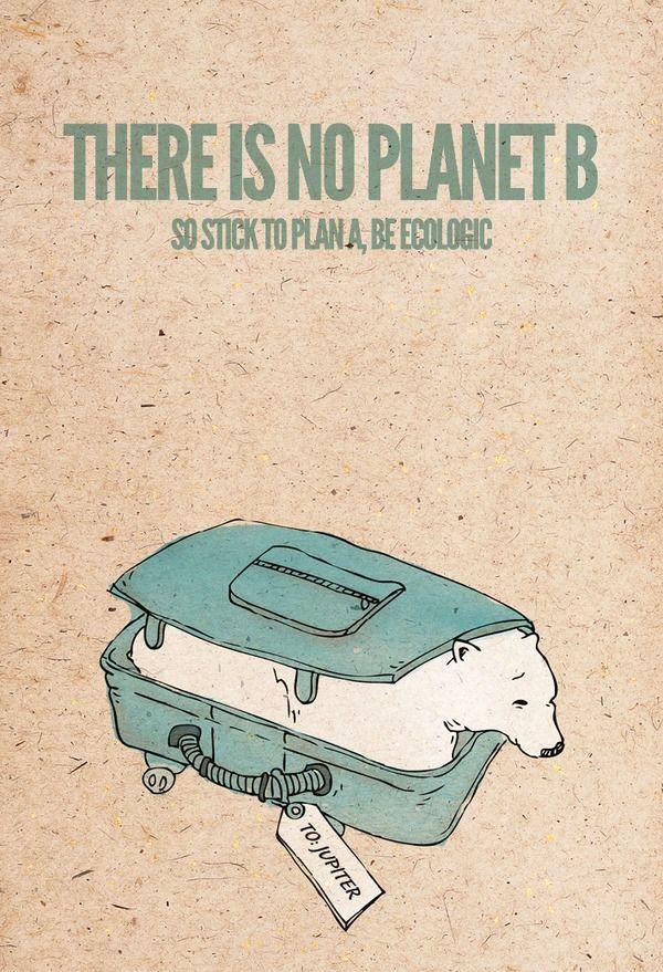 """""""Não existe planeta B. Então fique com o plano A, seja ecologicamente correto."""" www.eCycle.com.br Sua pegada mais leve."""