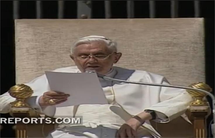 ¿Por qué el Papa eligió el nombre de Benedicto? Por San Benito y por otro Papa
