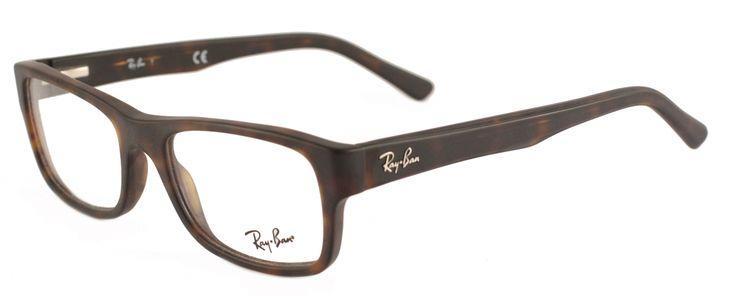 Ray-Ban RX5268 5211 Matte Havana   Eyewearbrands