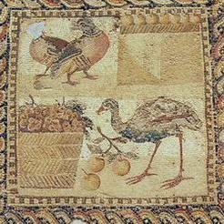 The Orpheus mosaic. National Archaeological Museum, Tripoli (Libya). Photo Marco Prins.