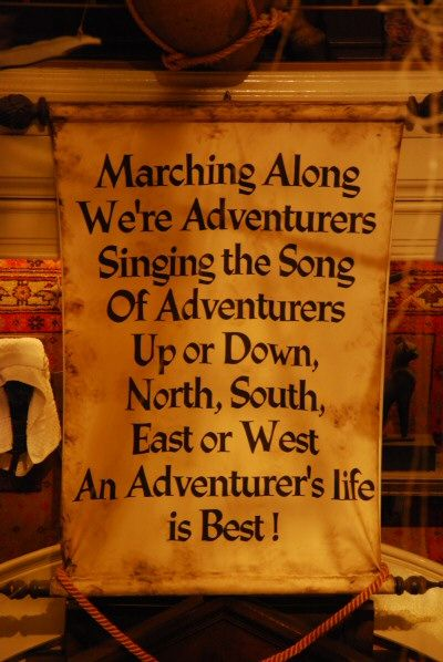 Rip Adventurer S Club Disney Pinterest Places Songs