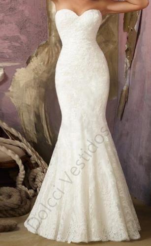 Vestido Sereia Longo De Festa/noiva, Tomara Que Caia
