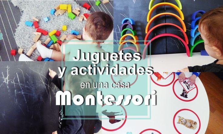 Aprendiendo con Montessori: Juguetes y actividades en una casa Montessori
